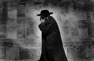Jood bij de klaagmuur, Jeruzalem 1976