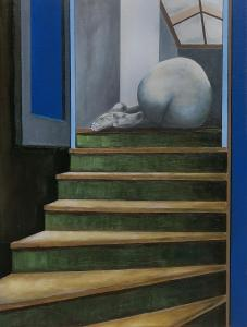Stairs- Oil on canvas 60x80cm