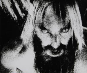 Zelfportret, Rasputin, 1972